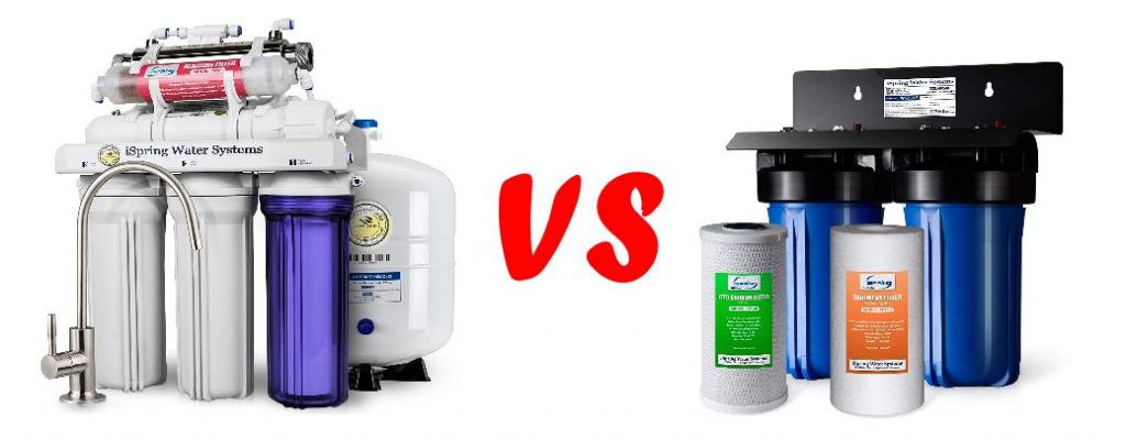 Reverse Osmosis vs Carbon Water Filter Systems