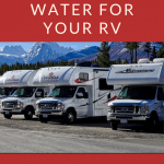 Filtered Water in RV